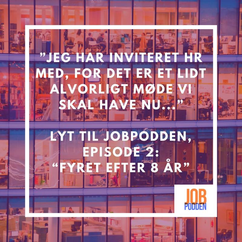 Episode 2 af Jobpodden er klar