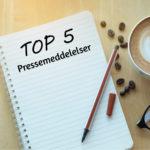 5 tips til bedre pressemeddelelser